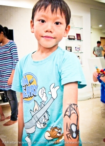 Spider Web Kids Birthday Party Face Painter Singapore