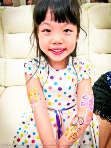 Fairy Butterfly Flower Kids Birthday Party Face Painter Singapore