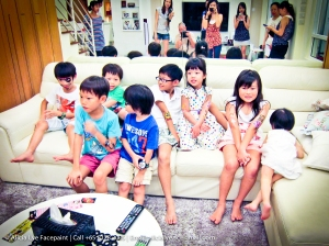 Happy Kids Birthday Party Face Painter Singapore