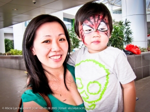 Spiderman Boys Face Paint | Singapore Professional Kids Face Painter