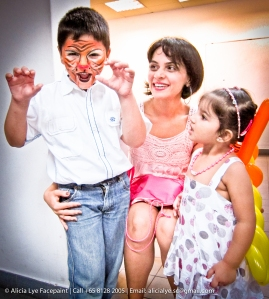 Singapore Professional Kids Face Painter