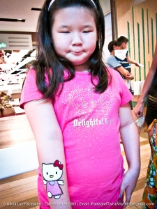 Pink Hello Kitty Hand Paint