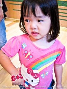Hello Kitty Ribbon Hand Paint