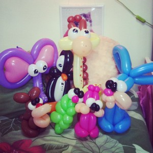 Balloon animal zoo