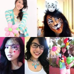 Happier Face Painter Balloon Twister Alicia Lye