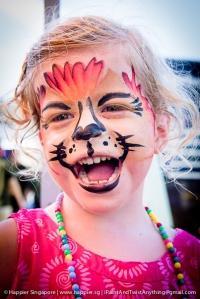 Lion face painting 3_happier singapore
