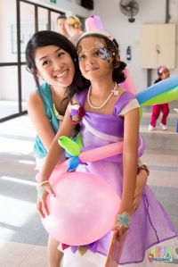rainbow fairy wings balloons