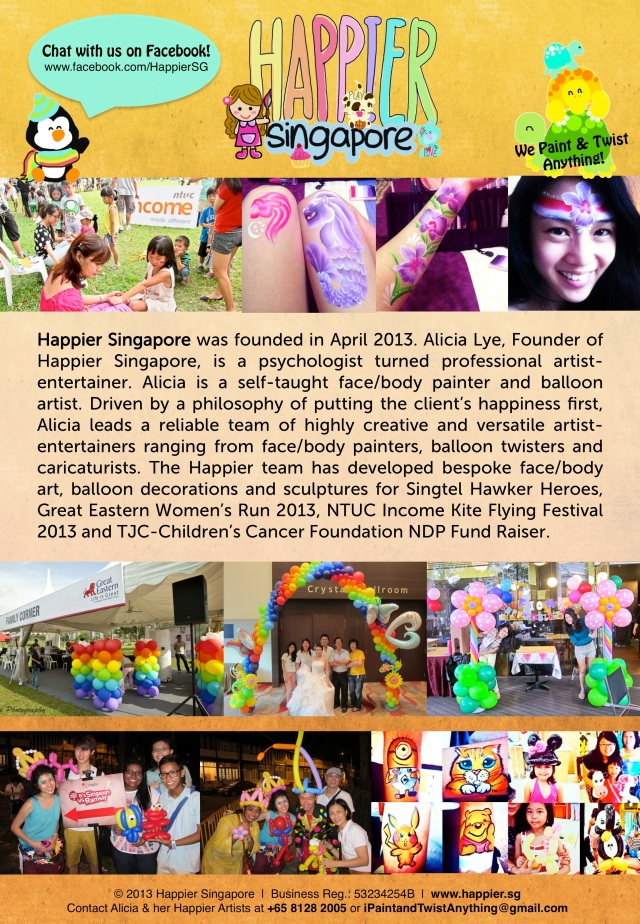 Happier Singapore Company Profile