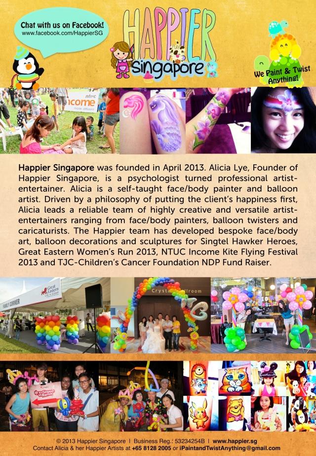 Happier Singapore Company Profile