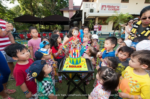 Kids birthday party Happier Singapore
