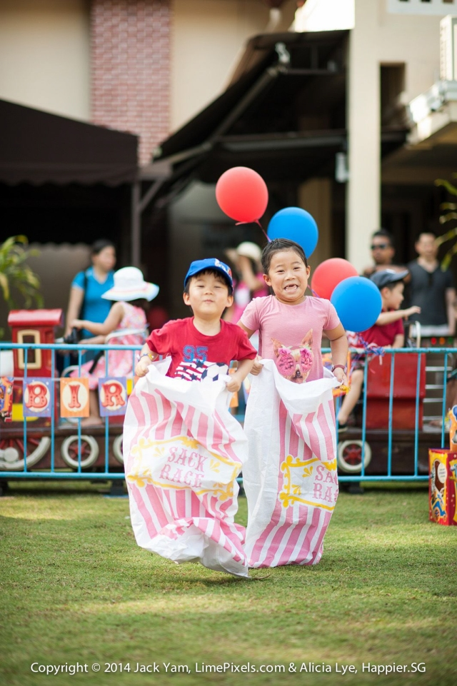 Kids party games Happier Singapore