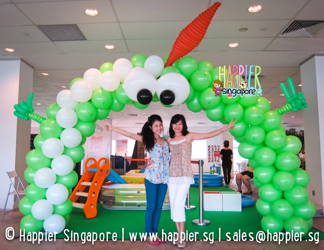 Custom appleton balloon arch_happier singapore