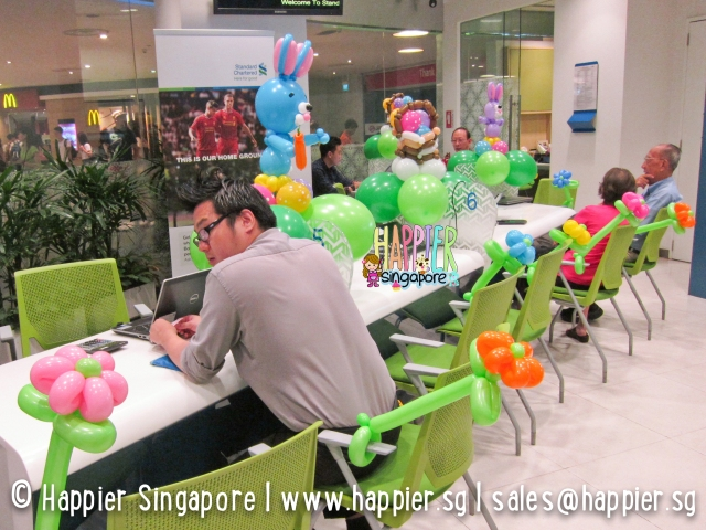 Easter balloon decorations_happier singapore