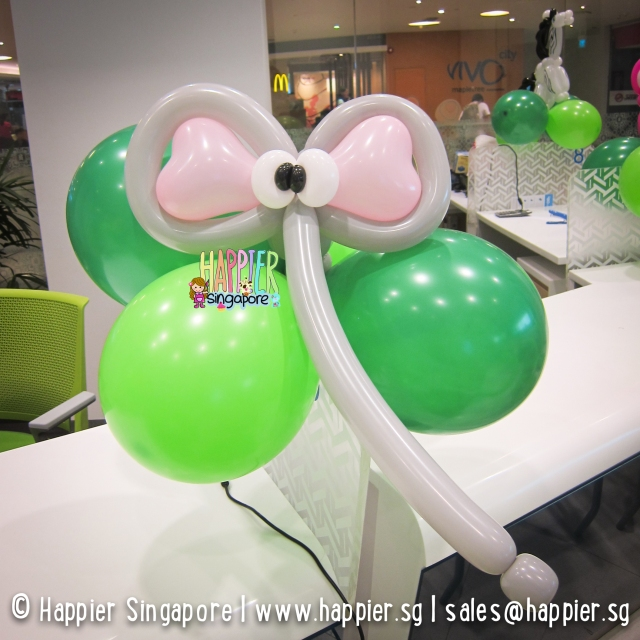 Elephant balloon sculpture_happier singapore