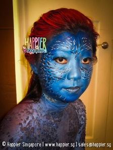 Halloween Face Painting Mystique Happier Singapore