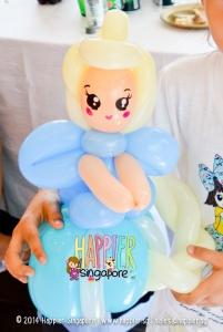 Frozen Inspired Elsa Balloon Sculpture Happier Singapore