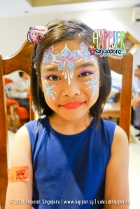 Frozen Inspired Elsa Face Painting Happier Singapore 2