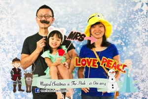 Frozen Inspired Kids Party Photobooth Happier Singapore