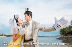 Mickey Pre-Wedding Photoshoot Happier Singapore