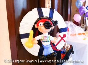 Pirate Balloon Sculpture Happier Singapore