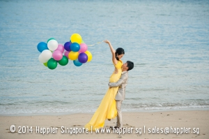 Pre-Wedding Photoshoot Happier Singapore