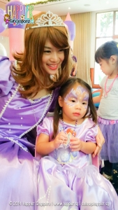 Princess Sophia Inspired Party Happier Singapore