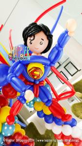 Superman Balloon Decorations Happier Singapore