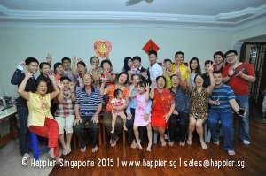 Groom's Family Photo Singapore