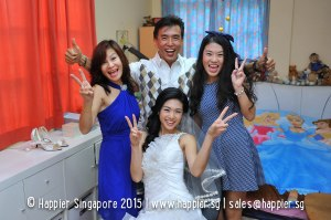 Wedding family photo singapore