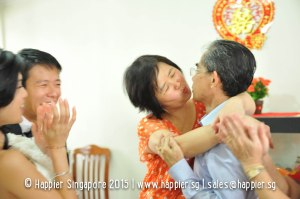 Groom's Parents Photo Singapore
