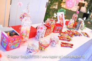 Vintage Candy Bar Wedding Reception Ideas Singapore