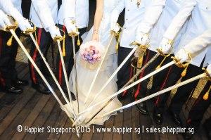 Sword Bearers Military Wedding Reception Ideas Singapore