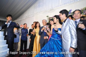 Celebrity Wedding Emcee Singapore