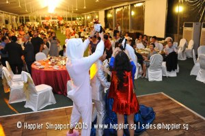 Dance with Mascots Wedding Ideas Singapore