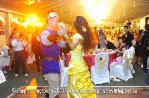 Dance with Beauty & The Beast Wedding Ideas Singapore
