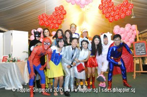 Mascots & Costumed Characters Wedding Ideas Singapore