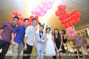 Photo Booth & Balloon Decoration Wedding Ideas Singapore