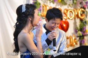 Touching groom's speech