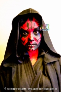 Darth Maul Star Wars Face Painting Adult Happier Singapore