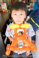 Dog balloon sculpting happier singapore