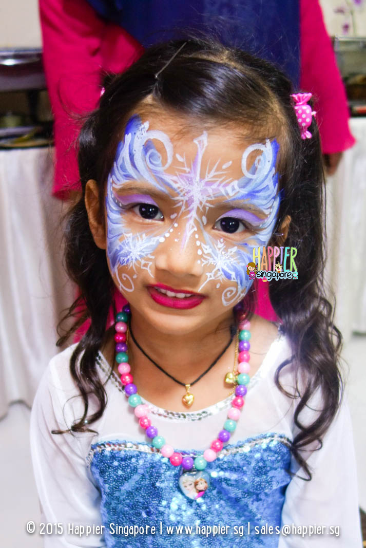 Face Painting Frozen Elsa Frozen Elsa Face Painting