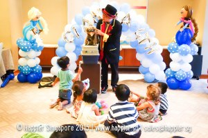 Magician Kids Magic Show Uncle Jimbo Happier Singapore