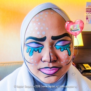 halloween-comic-pop-art-face-painting-singapore