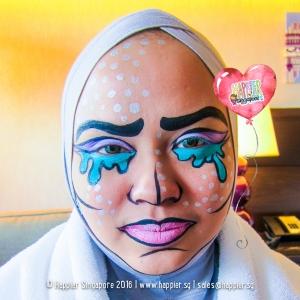 halloween-comic-pop-art-face-painting