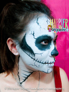 halloween-skull-side-profile-face-painting-singapore