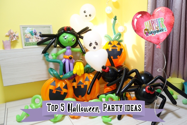 top-5-halloween-party-ideas-face-painting-balloon-sculpting-decoration-singapore