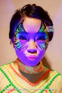 halloween-uv-glow-butterfly-face-painting
